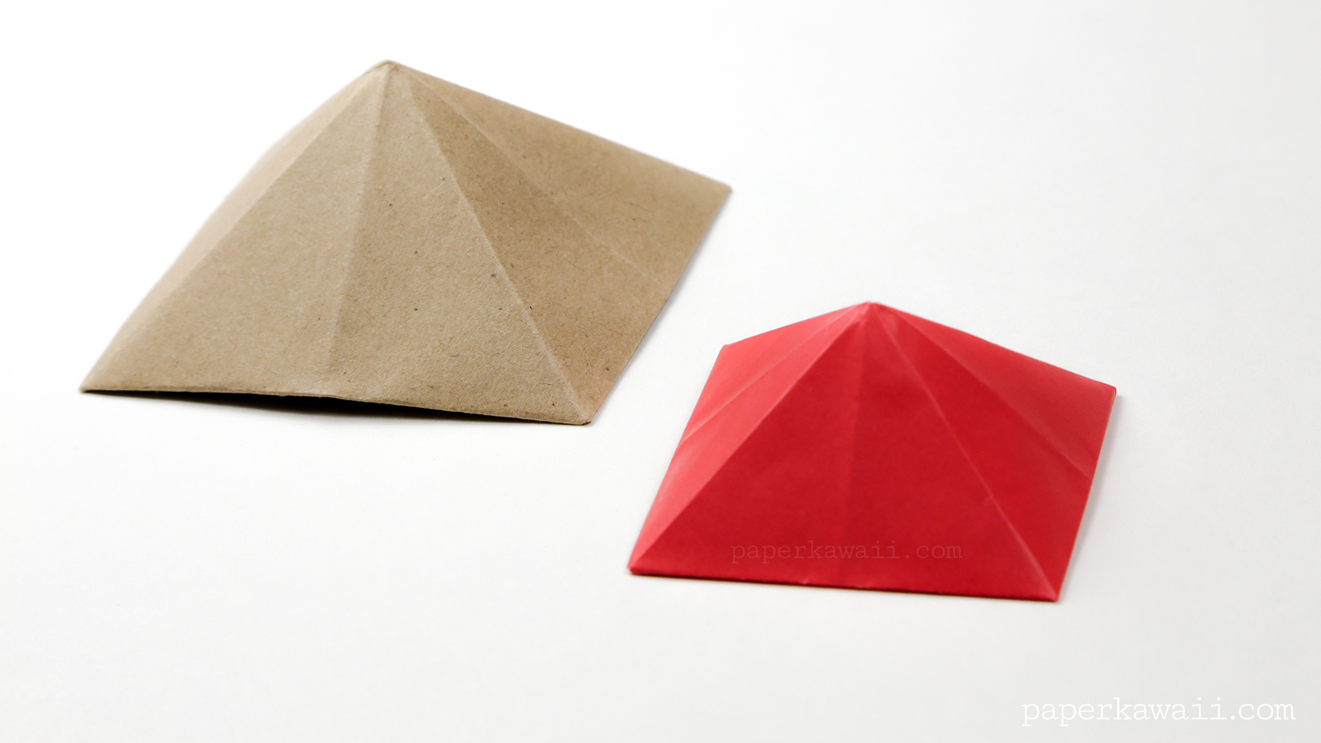 how to make a square paper box with a lid