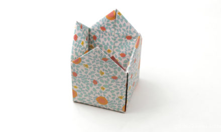 origami gift bag instructions