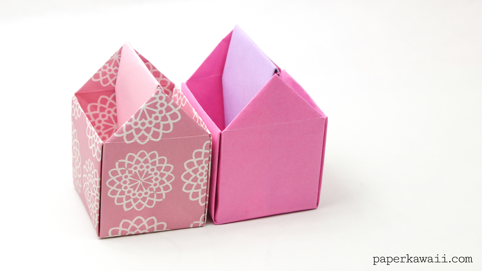 How To Make An Origami Paper Box Dailymotion