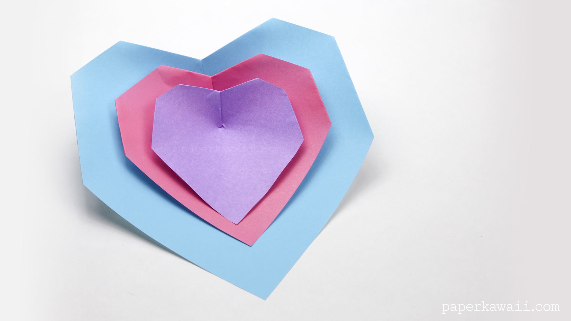 Super Easy Origami Heart Instructions - Paper Kawaii - photo#15