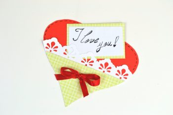 Easy Paper Heart Pocket