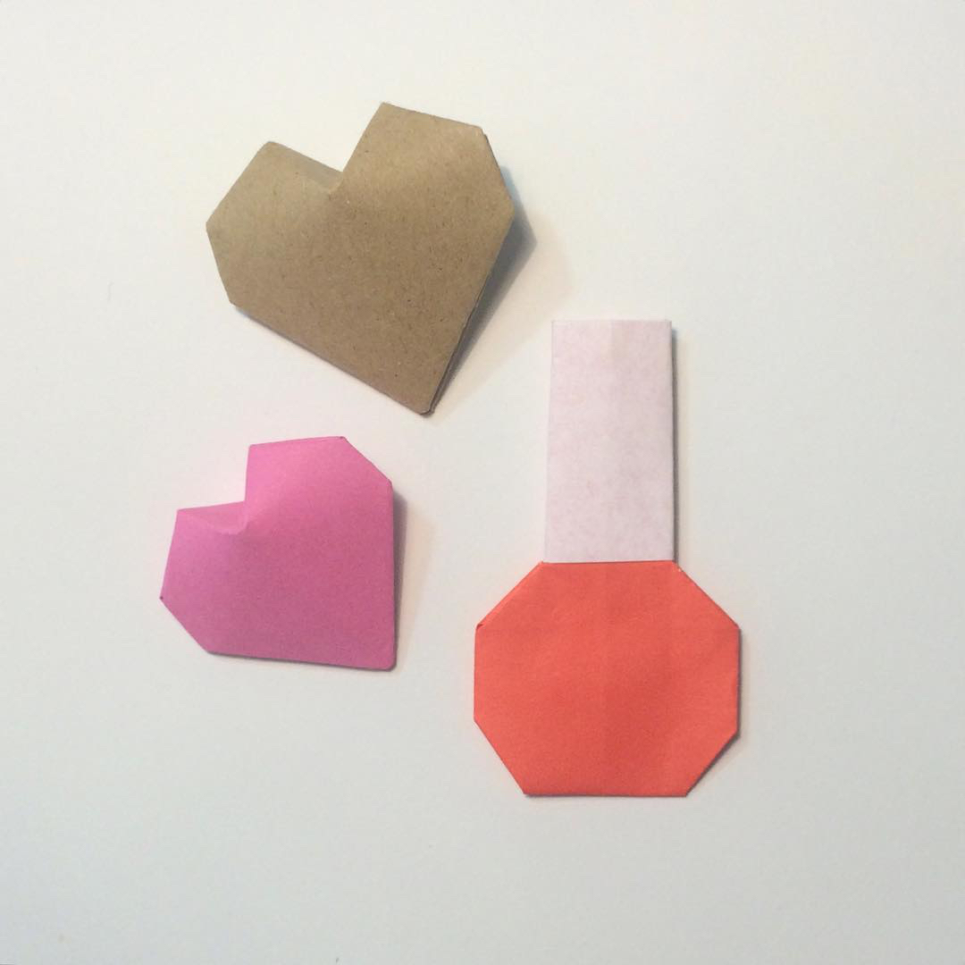 Origami 3D Puffy Heart Instructions - Paper Kawaii - photo#16