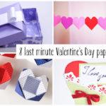 8 Last Minute Valentine's Day Craft DIYs