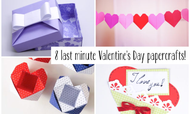 8 Last Minute Valentine's Day Craft DIYs