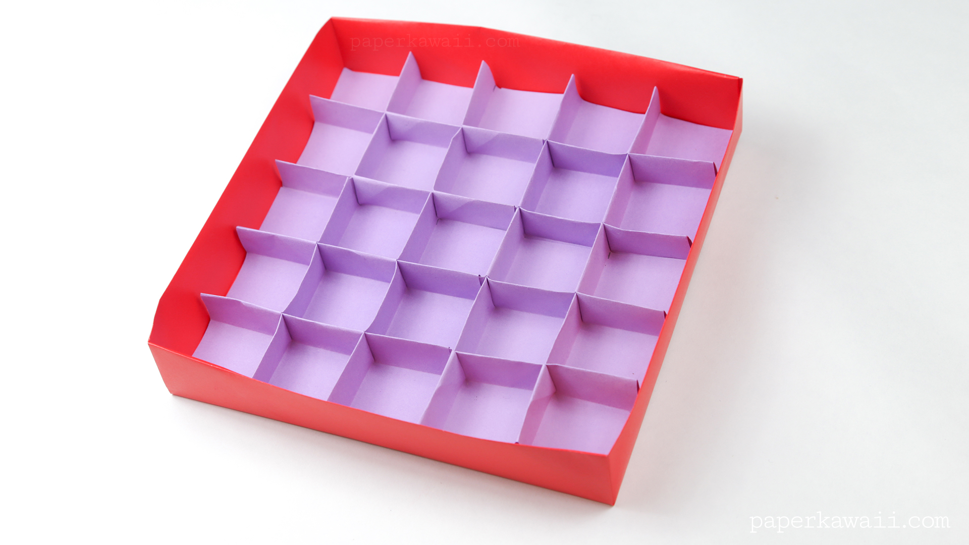 Easy Origami Masu Box Tutorial via @paper_kawaii