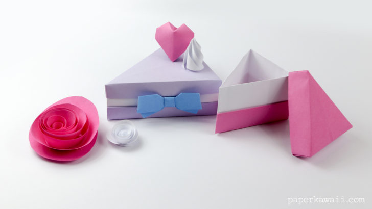origami gift box instructions pdf