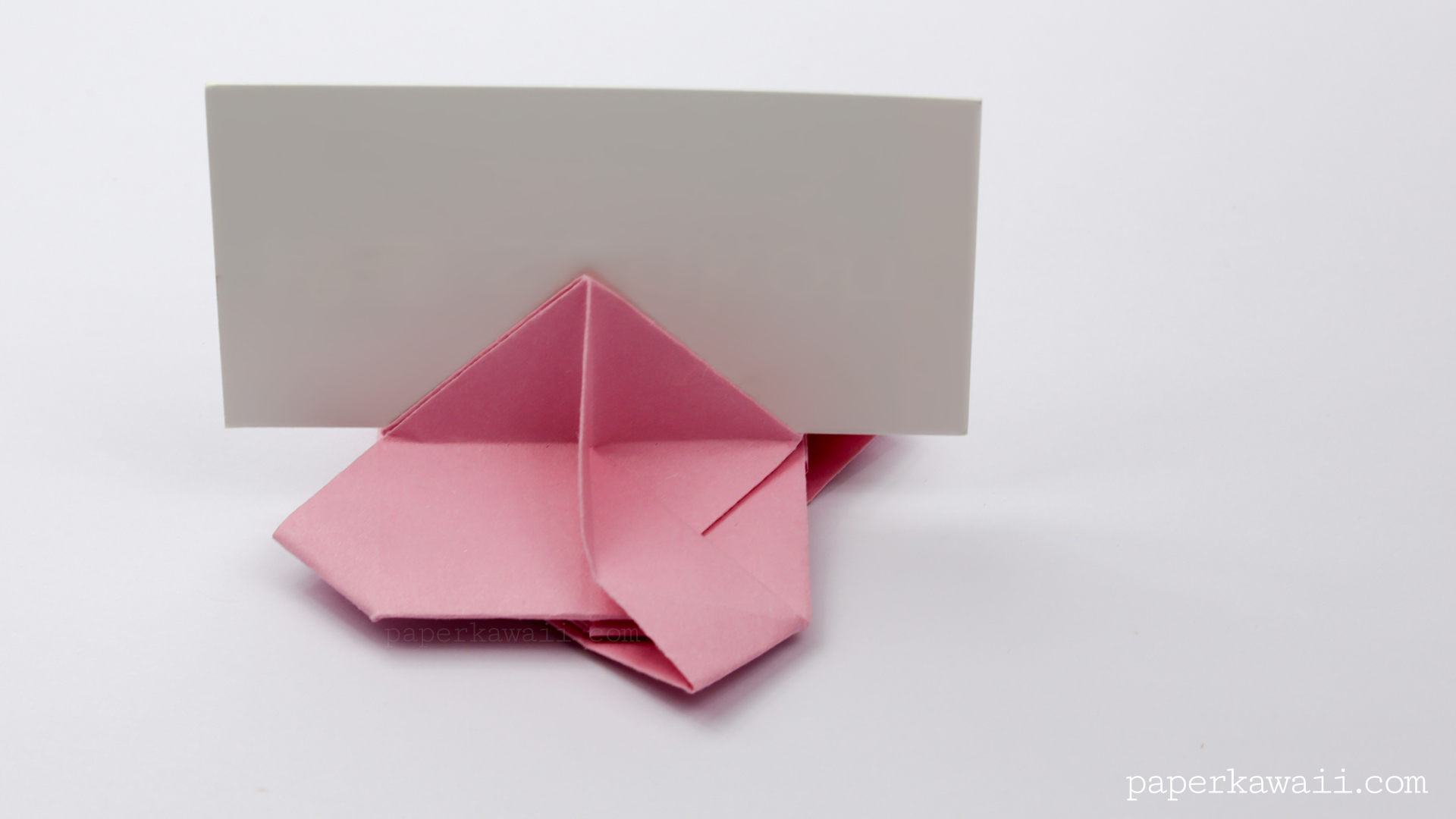 Origami Card Holder Instructions - Paper Kawaii - photo#45