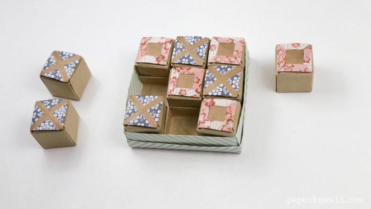 Origami Pyramid Box Instructions  Paper Kawaii  Pinterest