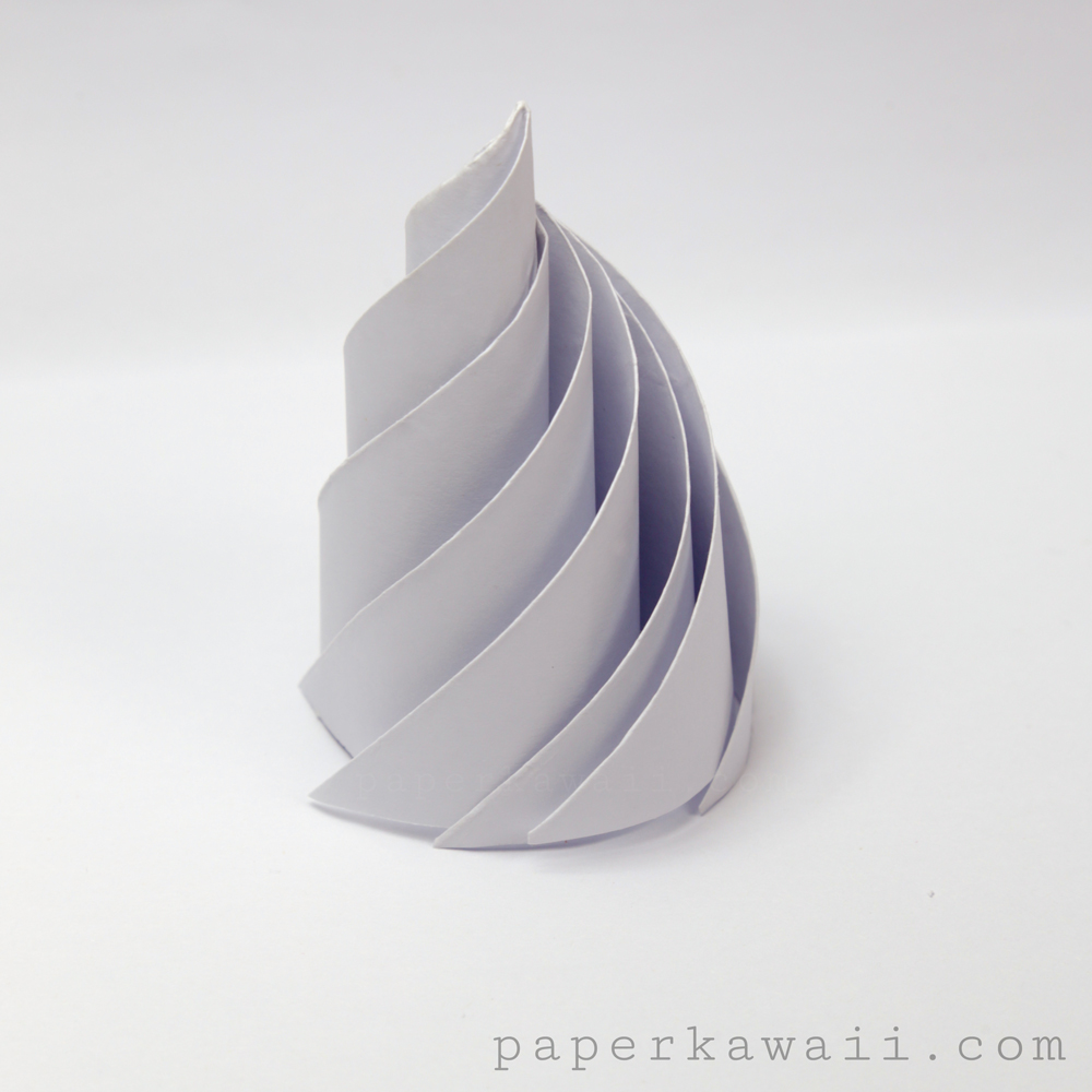 Origami icing whipped cream instructions paper kawaii learn how to make that cake slice box here jeuxipadfo Choice Image