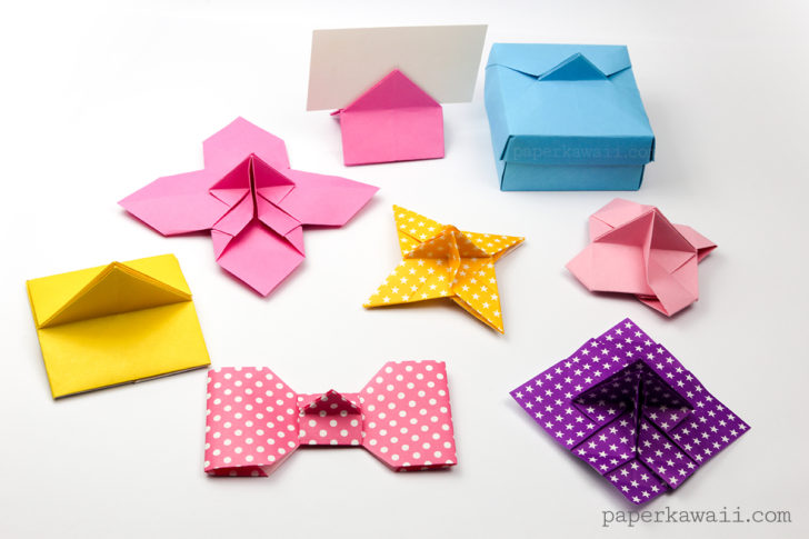 The Whole Family Of Origami Card Holders