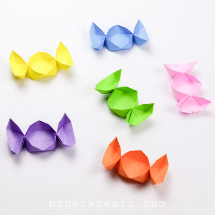 Flat Origami Box Instructions via @paper_kawaii