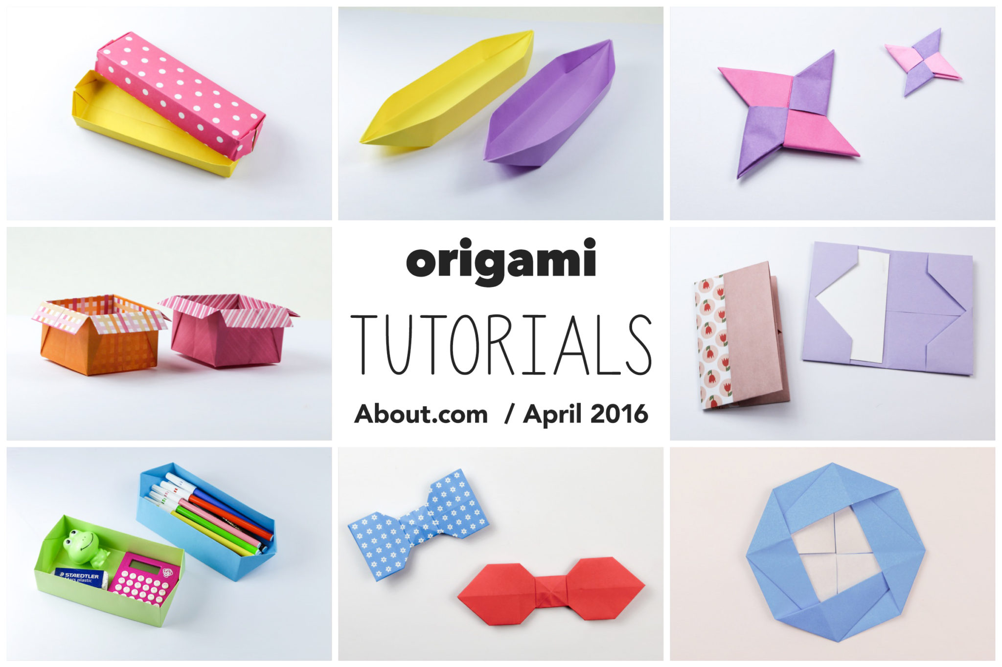origami photo tutorials april 2016 paper kawaii