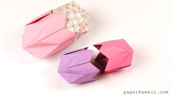 Origami Egg Box! It opens... :)
