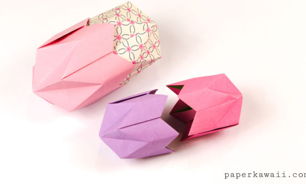 Origami Pentagonal Box Variations Tutorial