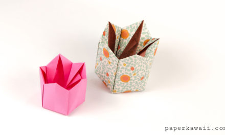Pentagonal Origami Crown Box / Lid Instructions