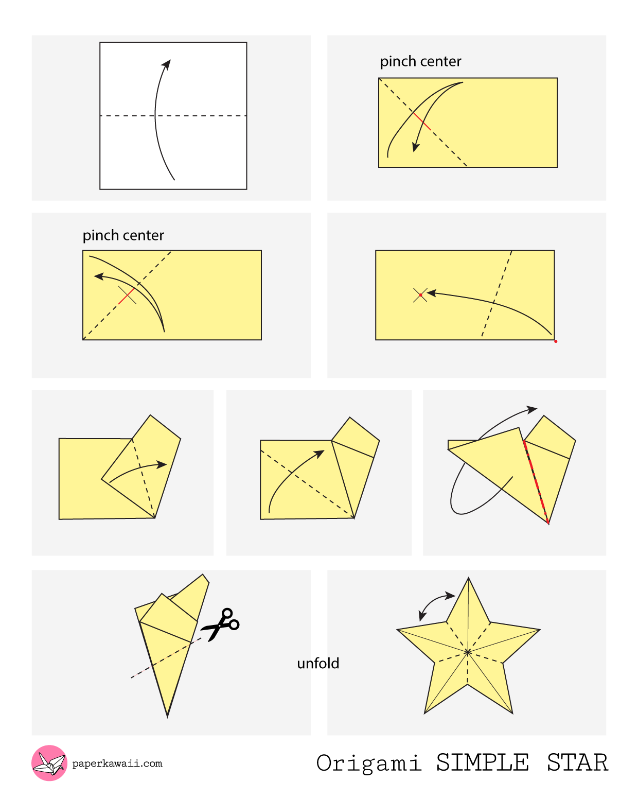 Origami Diagrams - Paper Kawaii - photo#43