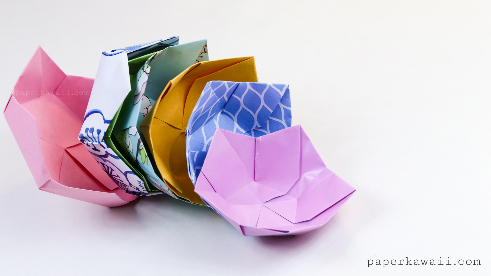 Origami Bowl Patterns