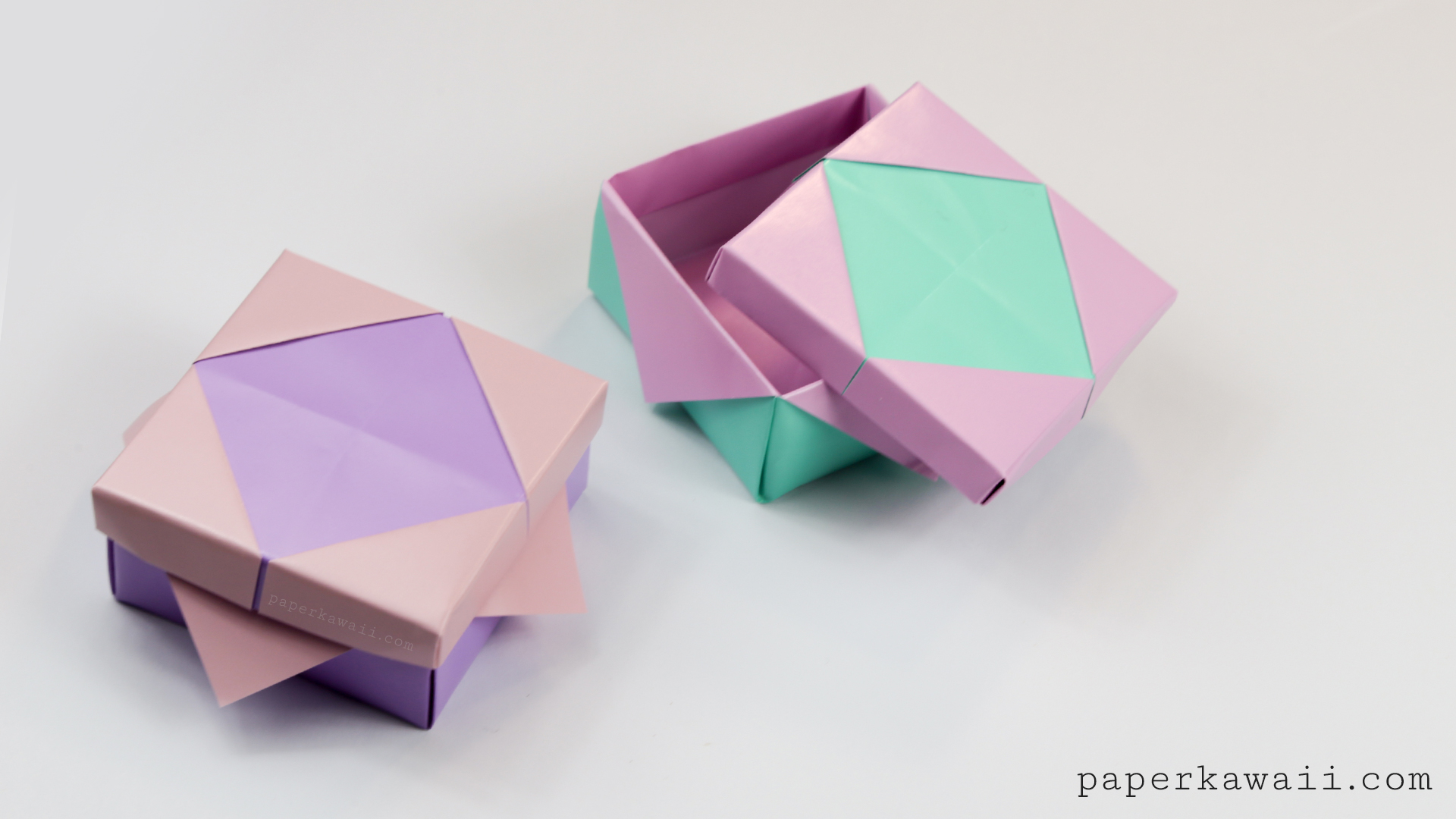 how to make origami heart box with lid how to