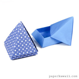 Origami Pyramid Box Instructions