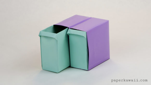 Tall Origami Drawers – Tutorial