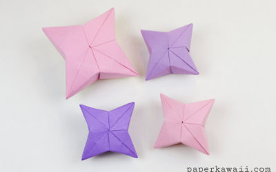 3D Origami Puffy Star Tutorial