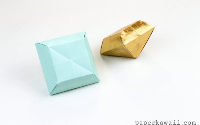 Origami Paper Crystal Tutorial – Make 3D Gems!