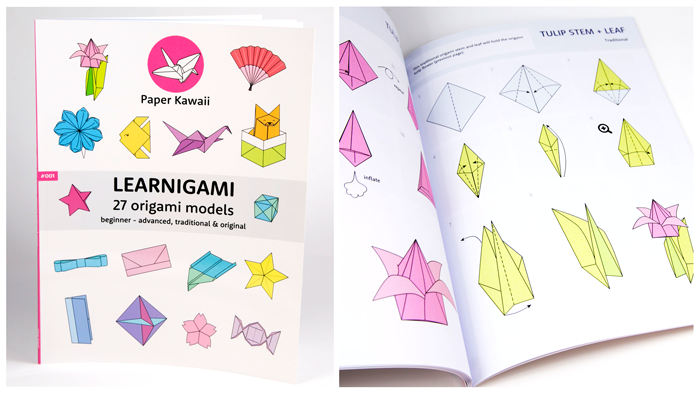 Paper kawaii free origami instructions photo video tutorials get learnigami ebook or printed mightylinksfo
