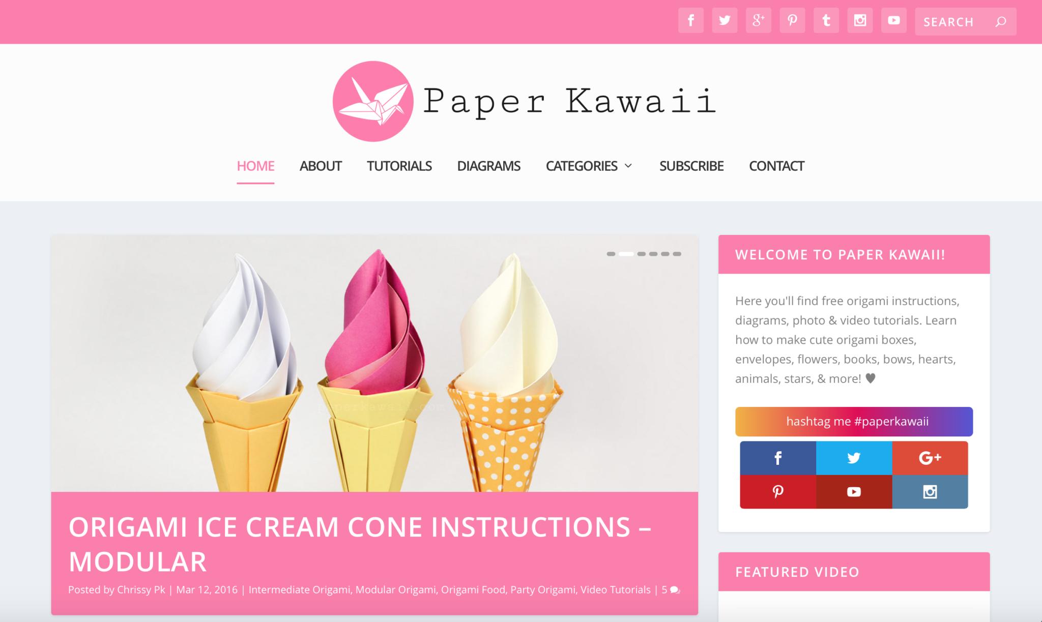 Cute Origami - Page 1 - Paper Kawaii - photo#2