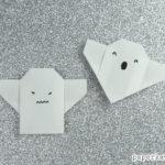 Easy Origami Ghost Tutorial