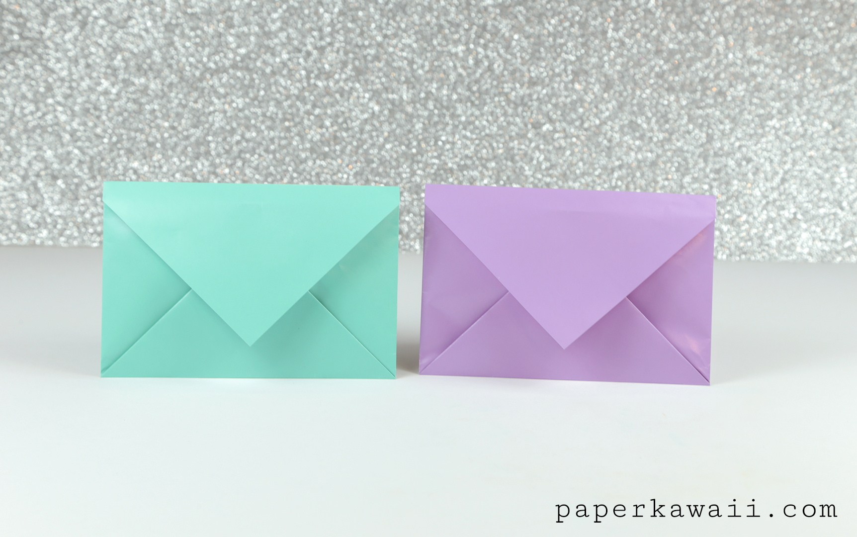 Simple Origami Envelope Video Tutorial - Paper Kawaii