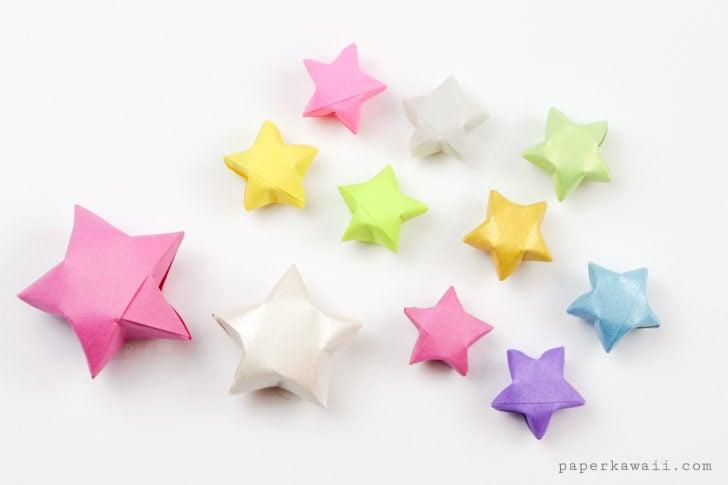 Origami Lucky Stars Tutorial - Easy & Fun!