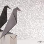 Easy Origami Crow Tutorial Video