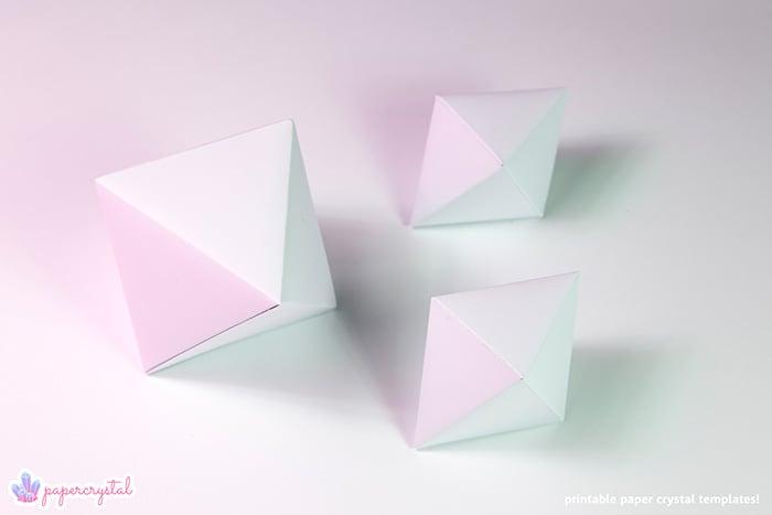 paper-crystal-printable-gem-templates-octahedrons