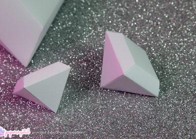 Printable Paper Gems & Crystal Templates via @paper_kawaii