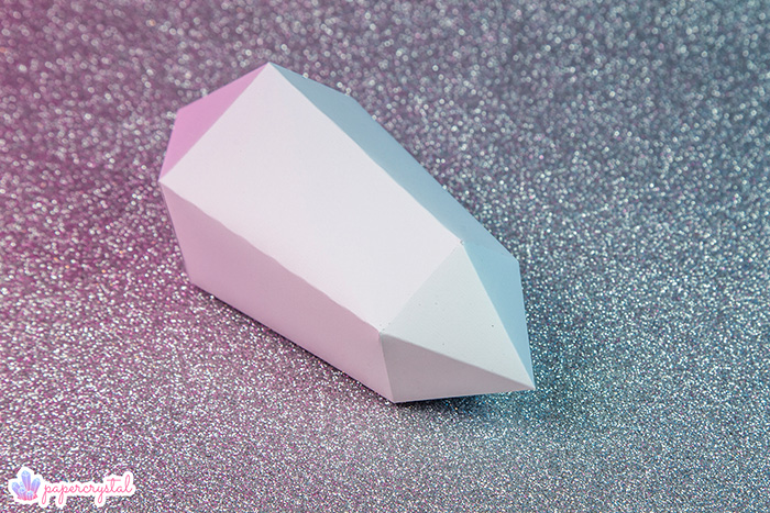 paper-crystal-printable-gem-templates-warped-bipyramid-pink