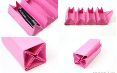 Origami Accordion Box Tutorial – DIY Roll Up Box