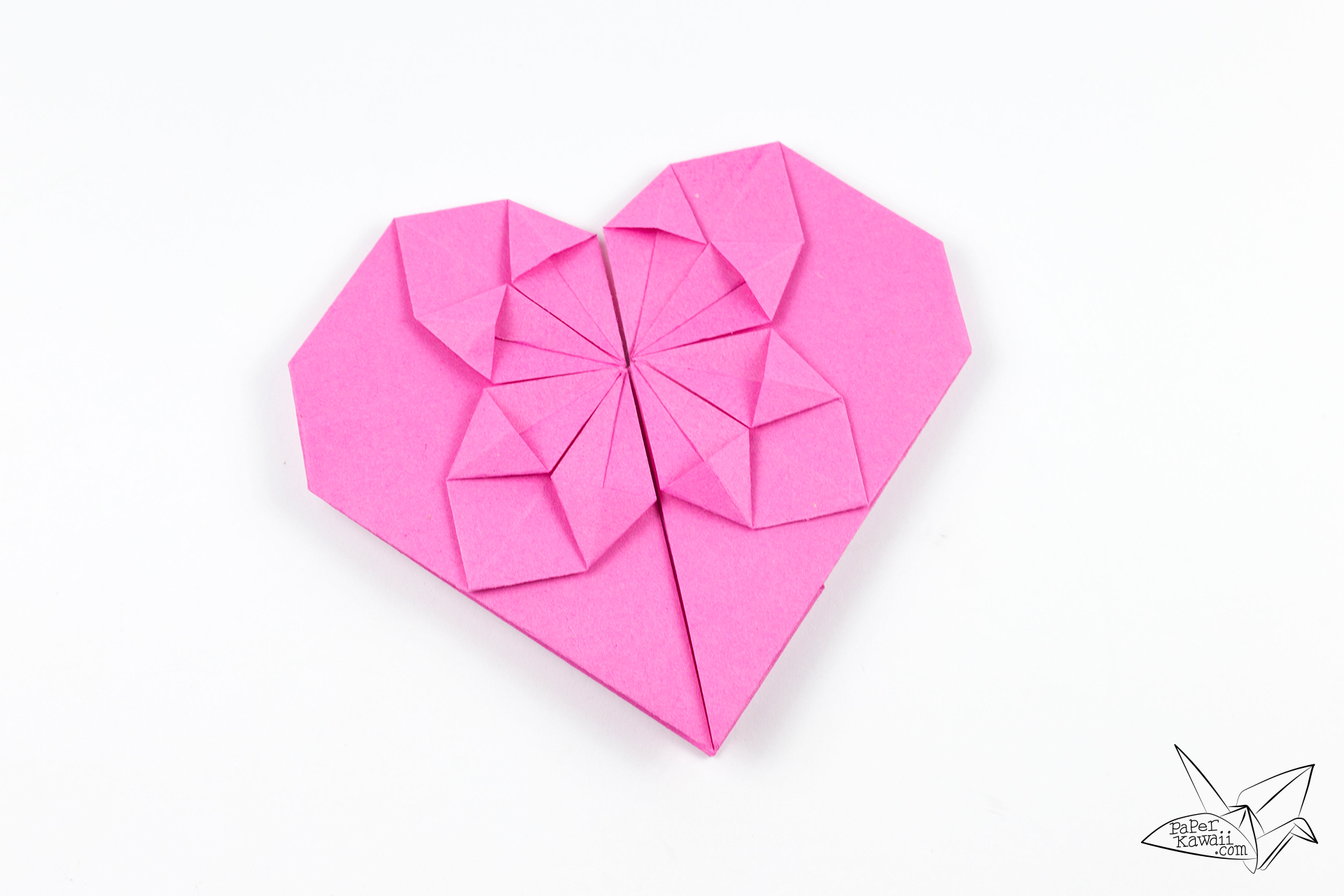 Money Origami Heart Tutorial for Valentine's Day - Paper ... - photo#33