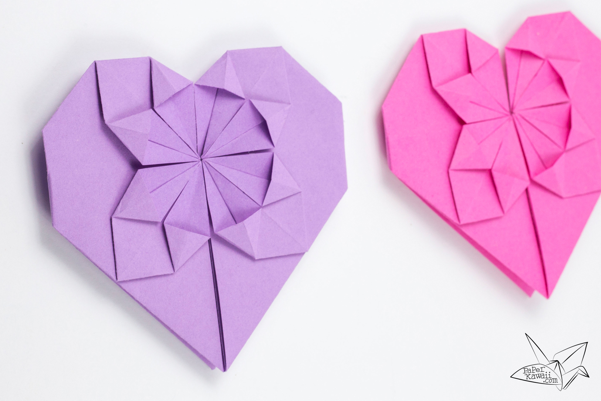 money origami heart tutorial for valentines day paper