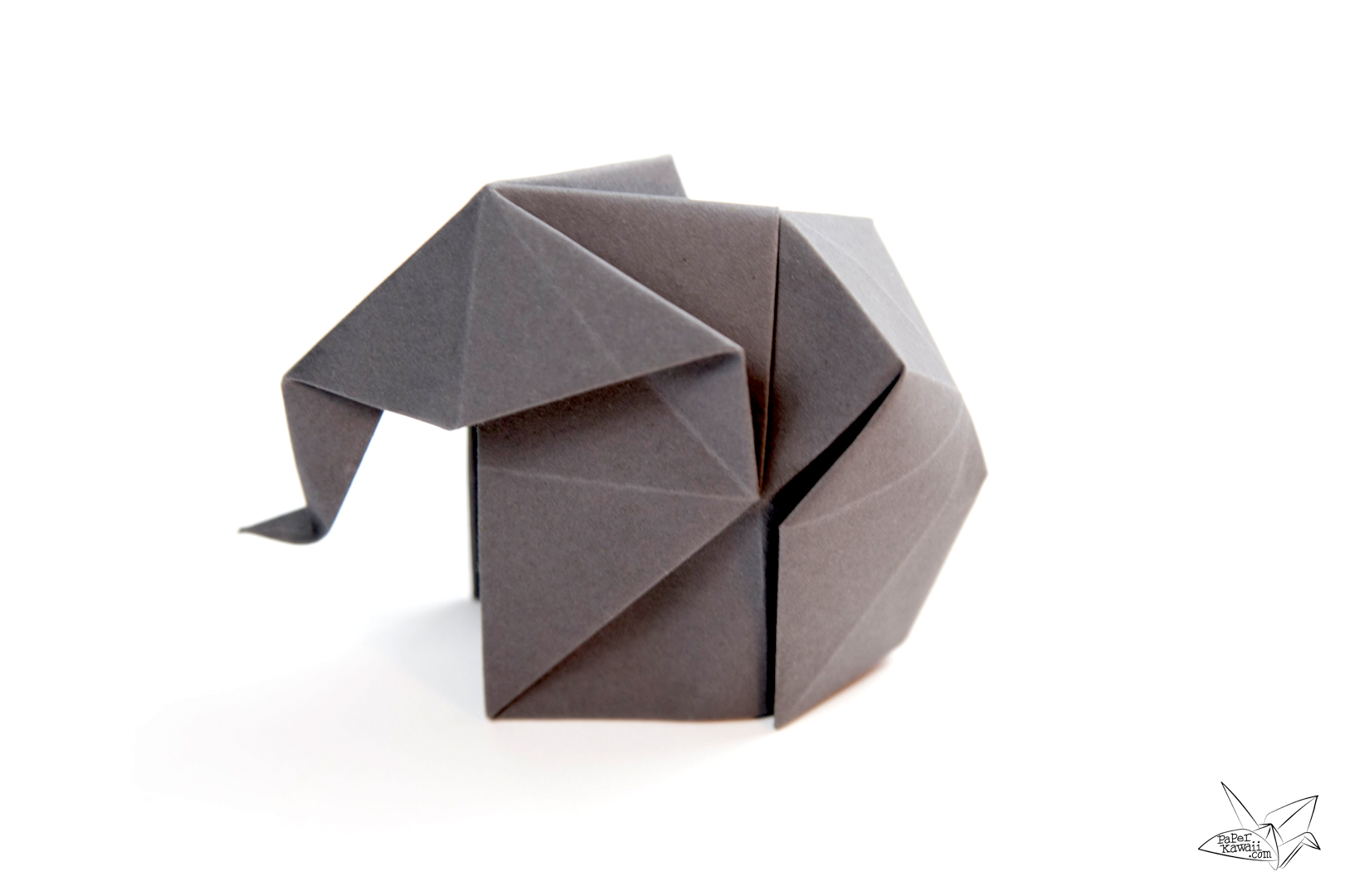 Origami elephant tutorial paper kawaii origami elephant tutorial check out my paper recommendations for more information on where i get my paper and also ideas and money saving tips jeuxipadfo Choice Image