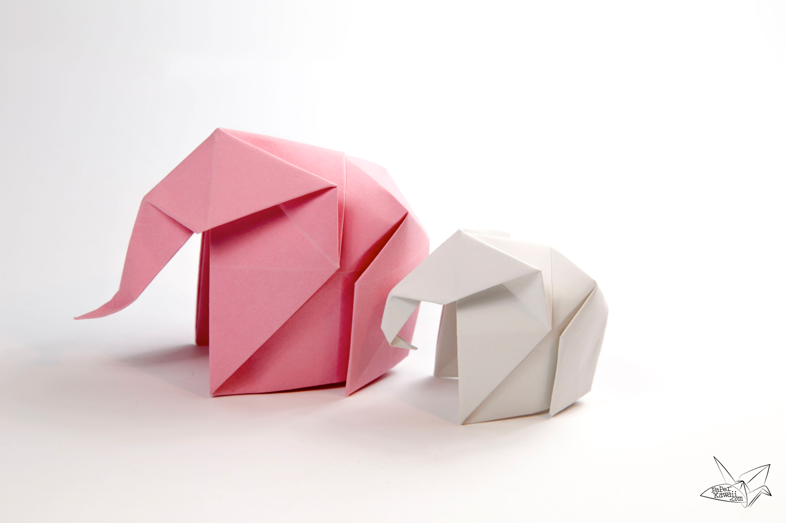 Origami Square Letter Fold Tutorial via @paper_kawaii