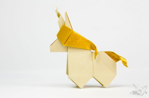 Origami Unicorn Tutorial