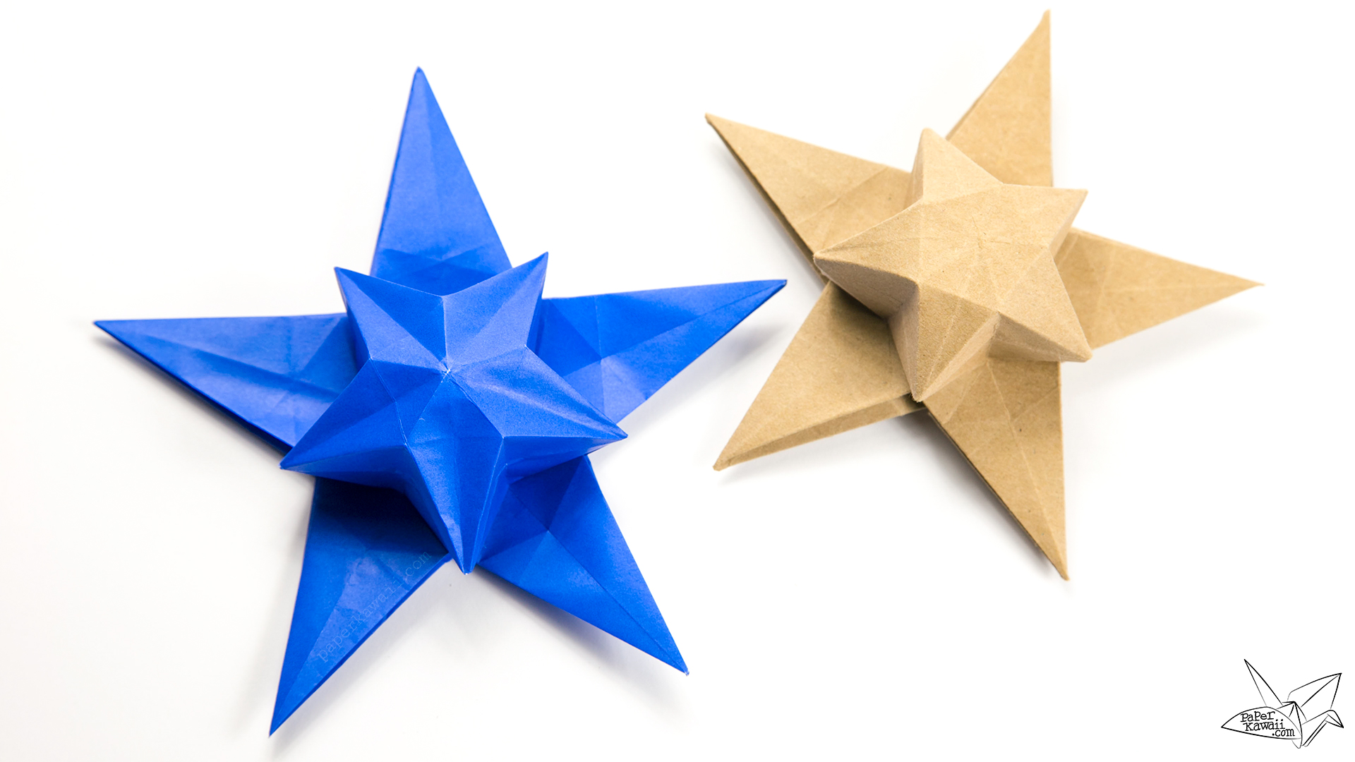 origami star paper Images of origami models from a single sheet of paper, folded by maria sinayskaya.