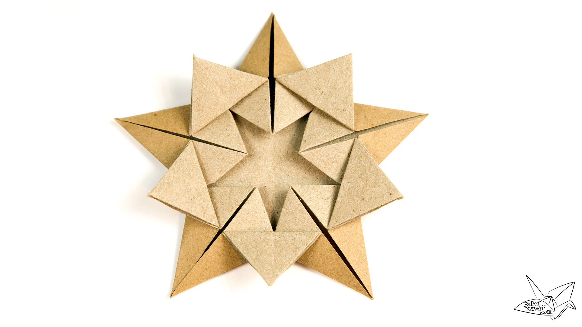 Origami Star Box How To Make