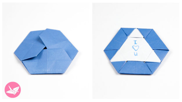Origami Triangle Hexagon Coaster / Tato Tutorial