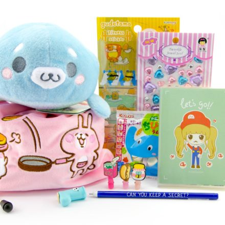 [ENDED] Kawaii Box Giveaway - Win Cute Items from Japan & Korea! via @paper_kawaii