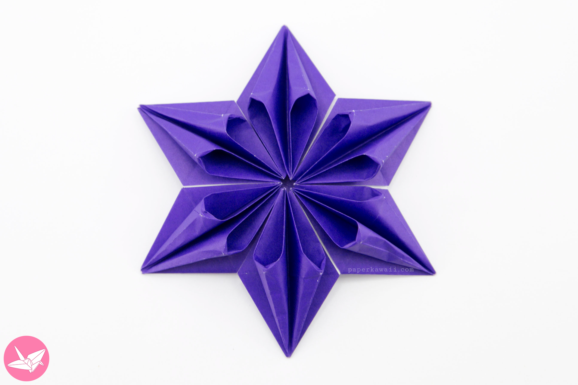 Origami Augustar Star Tutorial (José Meeusen) via @paper_kawaii