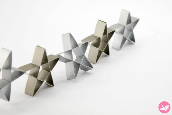 Kirigami Star Decoration Tutorial & Free Template