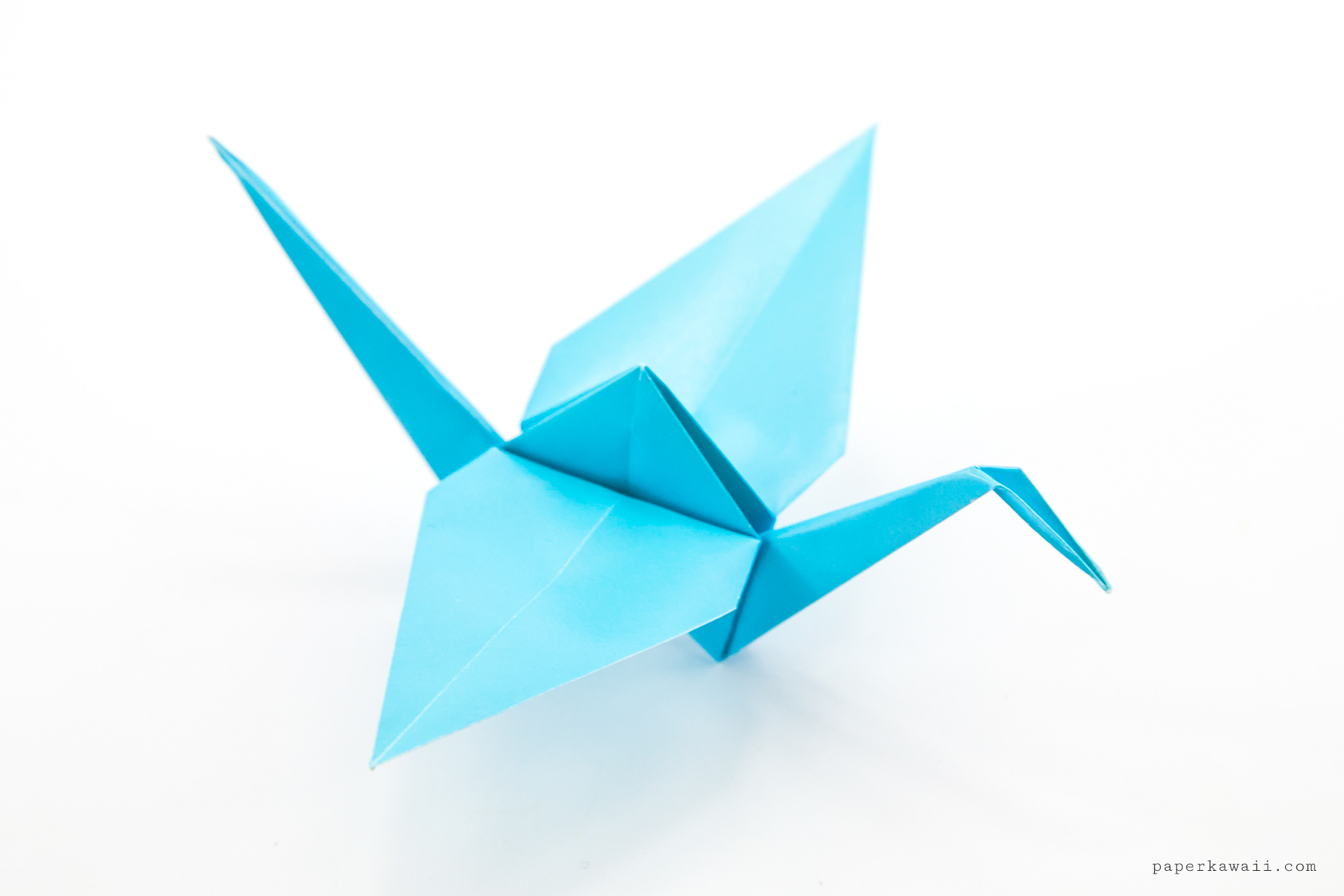 Origami Crane Tutorial - Traditional Origami Tsuru - Paper ... - photo#21