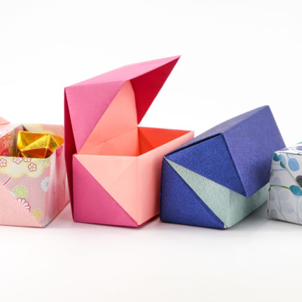 Origami Masu Box Star Variation Tutorial via @paper_kawaii