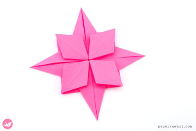 Origami Compass Rose Star Tutorial